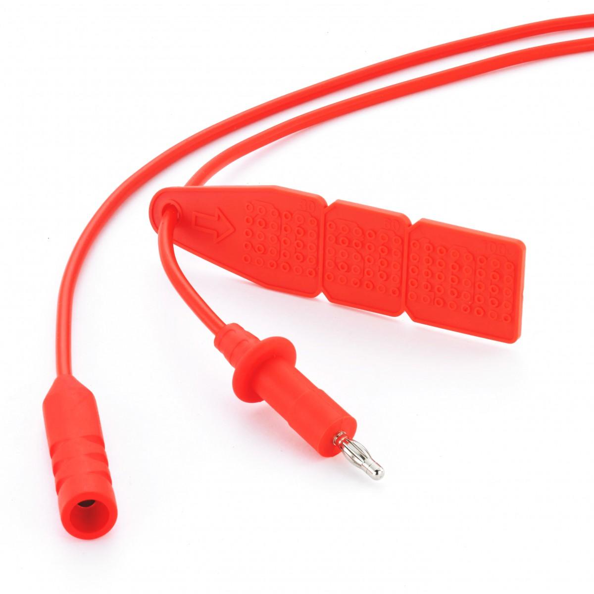 Reusable Monopolar Cable, 4mm Banana Plug + 4.0mm/4.8mm Socket