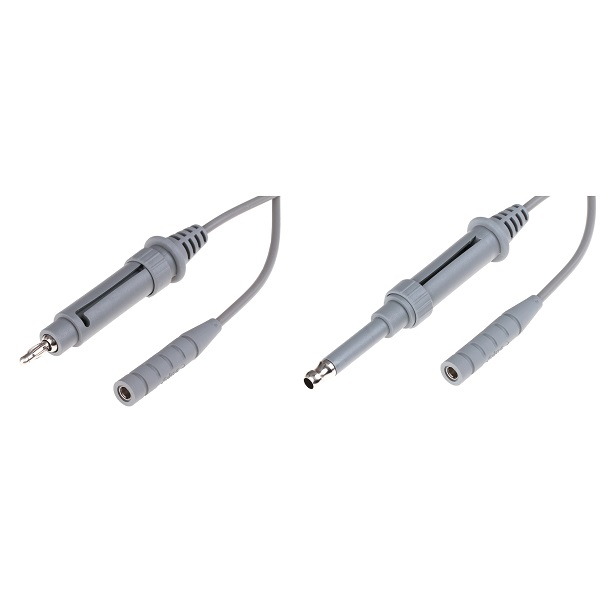 Reusable Universal Monopolar Cable, One Connector Fits Both 4mm and 8mm Plug