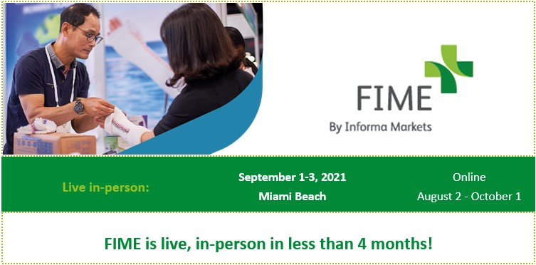 FIME is getting back to business and registration is now open!